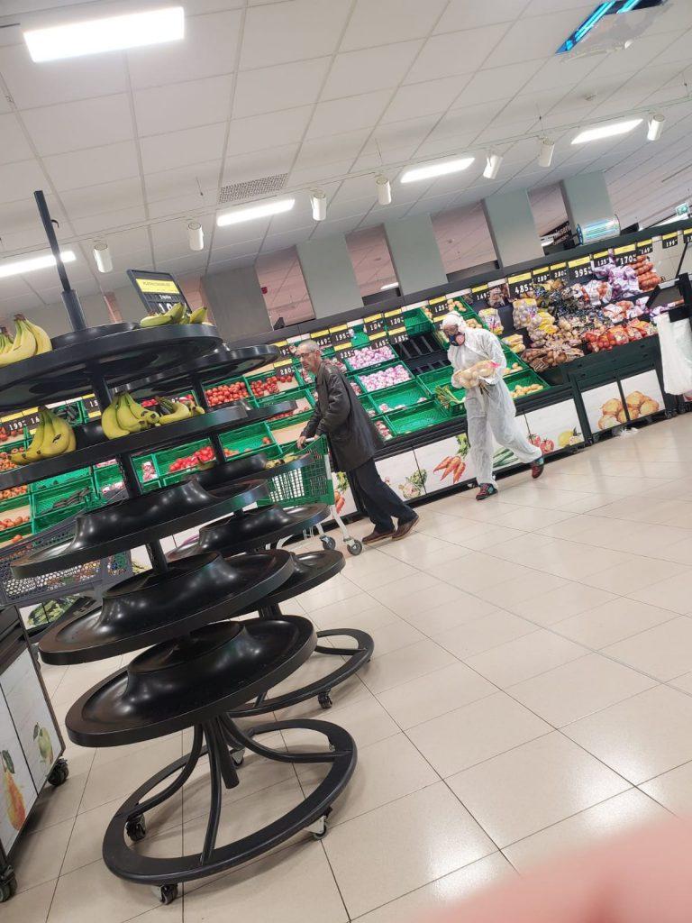 coronavirus supermercados