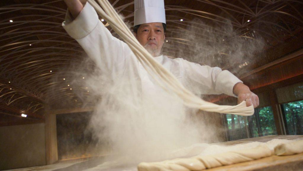 los noodles más largos del mundo